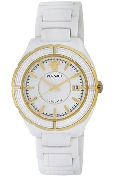 Versace Women's 02ACP1D001 SC01 DV One Automatic Ceramic Watch -- Discover this special product, click the image (This is an amazon affiliate link. I may earn commission from it)