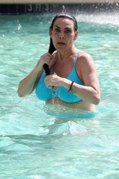 I wonder if she covered her body with harpoon repellant to avoid Captain Ahab's projectiles.