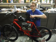 How to Build a Motorized 79cc Bicycle From Scratch Project Homesteading - The Homestead Survival .Com