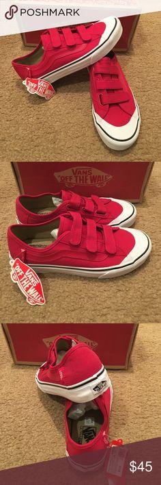 Vans Black Ball Priz C Sneakers New in box. Crimson Vans Shoes Sneakers