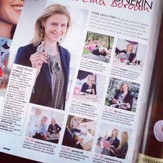 "Woman Magazine Mai 2014 ""Ein Tag mit Mascha Lina Borodin"""