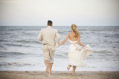 Outer Banks Real Wedding by Genevieve Stewart Photography at Koru Village | Coordinator: The Proper Setting #destinationwedding