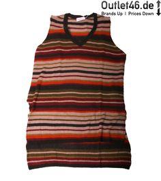 Dieser Pullunder von Sheego ist super kuschelig. Er ist in modernem Streifen Look. Man kann ihn gut mit einem ein farbigen Longsleeve oder Hemd kombinieren. Er ist angenehm zu tragen dank bester Verarbeitung. #sheego #sheegopullunder #sheegosweater #pullunder Sheego, Longsleeve, Super, Bunt, Modern, Tank Tops, Fashion, Sleeveless Sweaters, Stripes