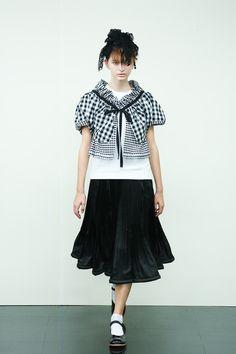 [No.16/87] tricot COMME des GARÇONS 2014春夏コレクション | Fashionsnap.com