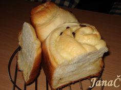 0675. vanilkový oblak od JanaC - recept pro domácí pekárnu Bread, Food, Meal, Essen, Hoods, Breads, Meals, Sandwich Loaf, Eten