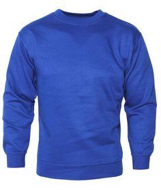 Big Matts Fleece Lined Sweatshirt 3XL, 4XL, 5XL, 6XL, 7XL Polycotton Blue. £18