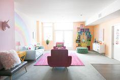 Mr. Kate - Rainbow Mermaid Unicorn Apartment Makeover for Jessie Paege!