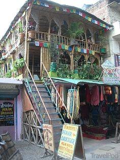 Little Buddha Cafe in Rishikesh, India
