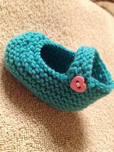 Ravelry: deliknits' Teal Toes free pattern I made for my granddaughter due Oct...this is my favorite bootie pattern!