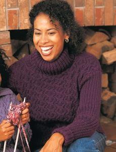 Slash Sleeve Sweater | Yarn | Free Knitting Patterns | Crochet Patterns | Yarnspirations