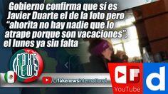 Gobierno confirma que sí es Javier Duarte el de la foto pero...