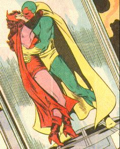 Scarlet Witch & Vision