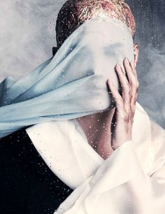 Vogue Germany April 2015 | Vanessa Moody | Iango Henzi + Luigi Murenu