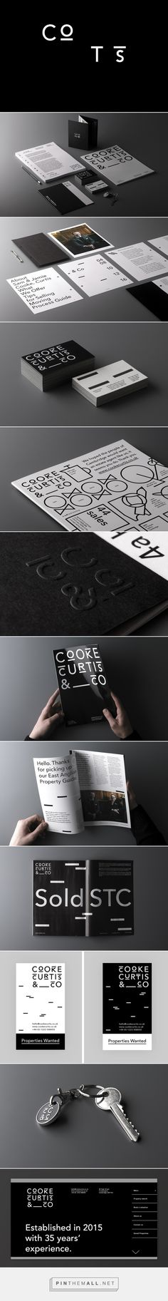 Brand Identity for Cooke Curtis & Co. by The District — BP&O - created via https://pinthemall.net