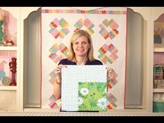 How to Miter Borders on a Quilt - Fat Quarter Shop - YouTube ... nice instructional video on mitering borders.