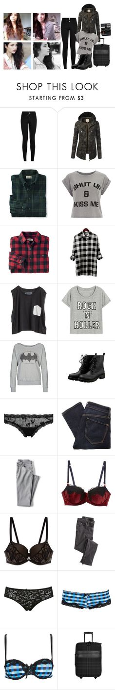 """""""Adventureeee! ~Vicky"""" by cutie-c ❤ liked on Polyvore featuring LE3NO, Dorothy Perkins, Woolrich, Blondes Make Better T-Shirts, ONLY, Mimi Holliday by Damaris, Marc by Marc Jacobs, Lands' End, STELLA McCARTNEY and Wacoal"""