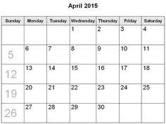 best collection of calendar 2015 april april 2015 calendar with holidays april fool 2015