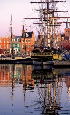 Fells Point, Baltimore Love the buildings as well as the nightlife, just be sure to have a dd or get a hotel room LOL