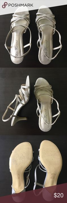 🎉3 for $10 deal🎉Lulu Townsend Homecoming Heals Worn for homecoming and prom! Super comfortable and good condition. Small stain on straps that's not even noticeable unless you look really close. Lulu Townsend Shoes Heels