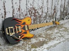 Cool cabronita with bigsby