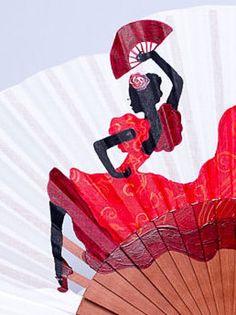 El traje flamenco