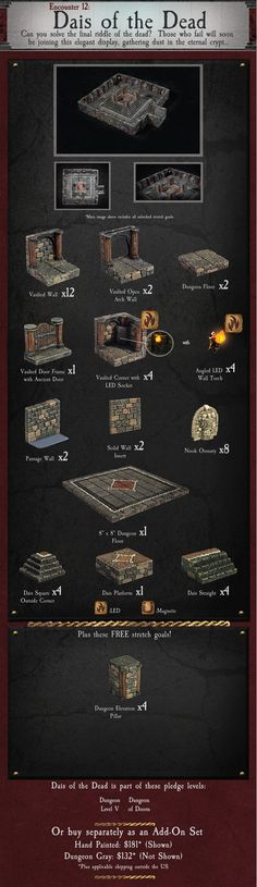 Dungeon of Doom: Handcrafted Game Terrain by Dwarven Forge by Dwarven Forge — Kickstarter