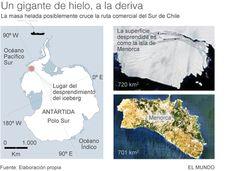 SOS: iceberg gigante hacia la ruta marítima  #FlipOver