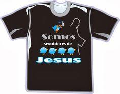Camisas e Uniformes Personalizados para: Empresas, Loja, Comércio, Escritório!: CAMISAS EVANGÉLICAS