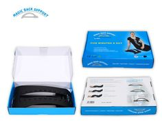 Adjustable Massage Back Support with CE approved