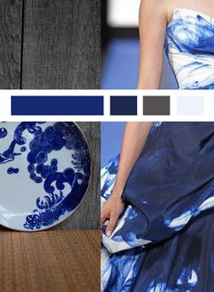 Blue and white - Japan modern
