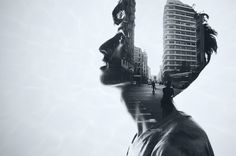 Casablanca portraits by Nossair Chkerbouby | Sugar. The name is Sugar. double exposure