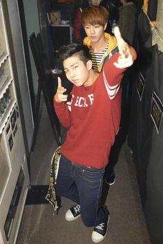 Rap Mon + Jin BTS Bangtan