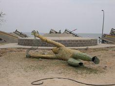 golden fisherman biloxi ms | SOS! for Sculpture: Save Outdoor Sculpture! Responds to Katrina and ...