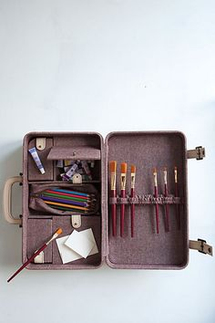 sure, a $200 art supply case is incredibly impractical, I get paint on everything all the time, but... it's gorgeous.