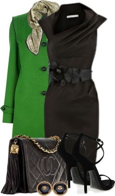 """Christmas in Chanel~"" by tammylo-12 on Polyvore"