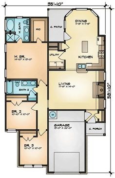 home layout plans free small | Floor Plan Design Software for Log ...