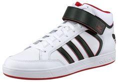 Größenhinweis , Fällt klein aus, bitte eine Größe größer bestellen., |Produkttyp , Sneaker, |Schuhhöhe , Knöchelhoch (high), |Farbe , Weiß-Schwarz, |Herstellerfarbbezeichnung , ftwr white, |Obermaterial , Materialmix aus Synthetik und Leder, |Verschlussart , Schnürung, Klettverschluss, |Laufsohle , Gummi, | ...