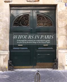 Quick but leisurely Paris Itinerary