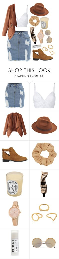 """""""Ranch Time"""" by mode-222 ❤ liked on Polyvore featuring philosophy, Larose, Office, Topshop, Diptyque, Aesop, Kate Spade, Kenzo, Toast and Cutler and Gross"""