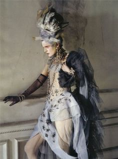 Stella Tennant by Tim Walker for Vogue Italia (March 2010).