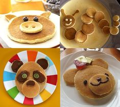 Easy Pancake Shape Ideas!