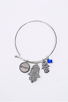 Shop Hamsa Charm Bangle in Silver at Urban Outfitters today. Purses For Sale, Purses And Bags, Watch Necklace, Hamsa, Ring Earrings, Women's Accessories, Urban Outfitters, Chokers, Bangles