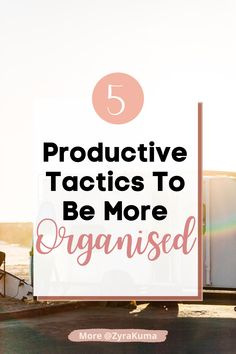 There are plenty of ways you can be productive and efficient. Use these 5 organisation tips to start. Motivation Goals, Business Motivation, Life Organization, Organizing Ideas, Good Time Management, Feeling Frustrated, Get Your Life, Life Advice, Self Development