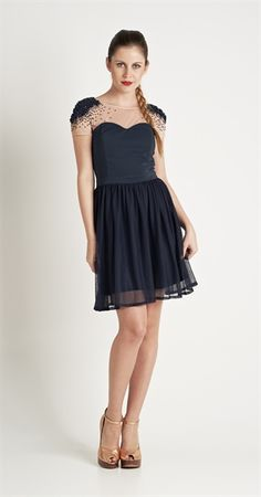Vestido Pérola Negra   Vestuário   Antix Store
