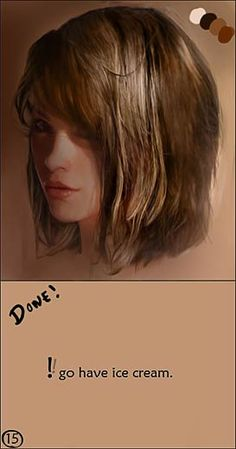 CGSociety - Tutorial: How to Paint Realistic Hair