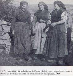 Dengue y Mandil del Traje Regional de Asturiana - Trajes Regionales Asturianos