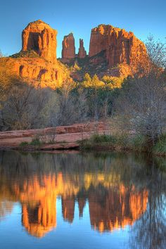 Sweet Sedona - HDR. I did a sunrise hike to this monument on my birthday this year. Sacred Space
