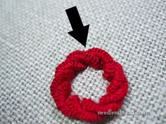 Stitch Play: Cast-On Stitch Flower Tutorial