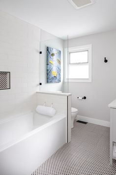 Bathroom renovation by Madeleine Design Group in Delta, BC This Is Us, Awards, Bathtub, Group, Interior Design, Bathroom, Places, Madeleine, Standing Bath