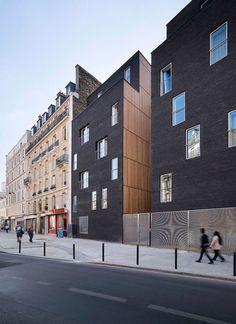 Paris, France Student residence 21 rue Pajol and 65 rue Philippe de Girard, Paris 18